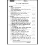 AM159 Vehicle Inspection Checklist 2-Part