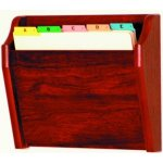 CH141 Oak File Holder Rack (1 pocket)