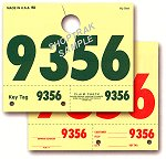 RL78 Hang Tag Dispatch Numbers